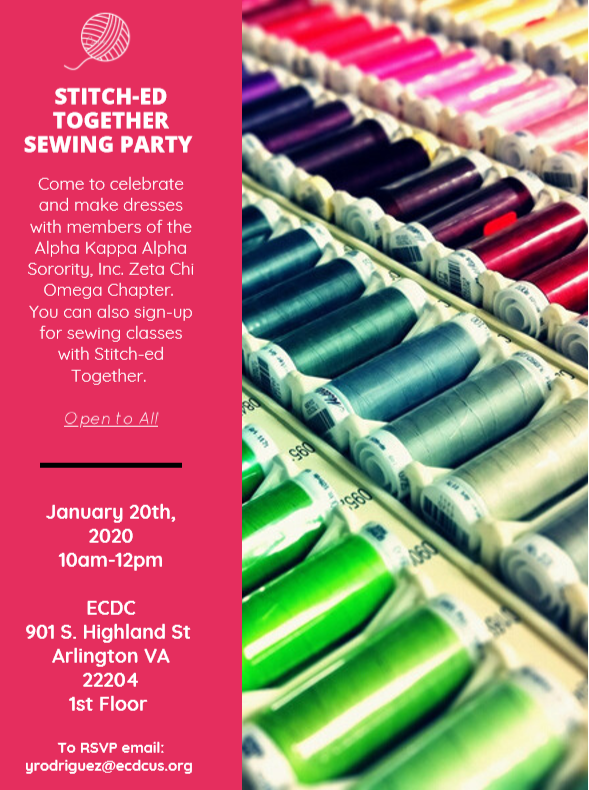 Stitch-Ed Together Sewing Party