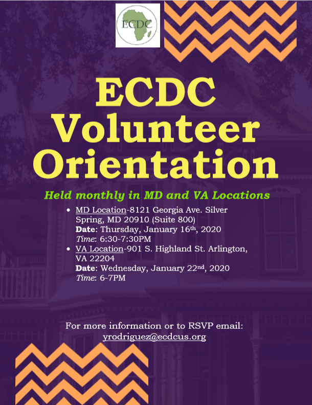 January Volunteer Orientation